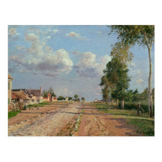 Camille Pissarro - ruta de Versalles Postal