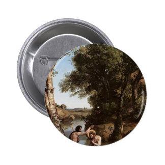 Camilo Corot- el bautismo de Cristo Pins