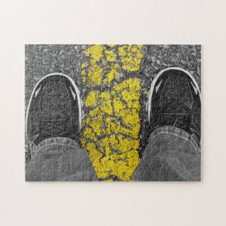 Camina la línea puzzle