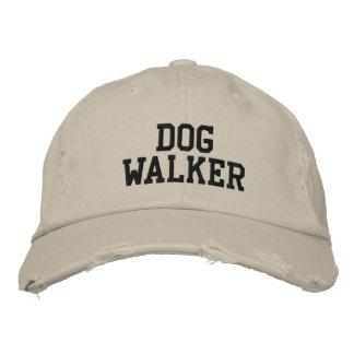 Caminante del perro gorra bordada