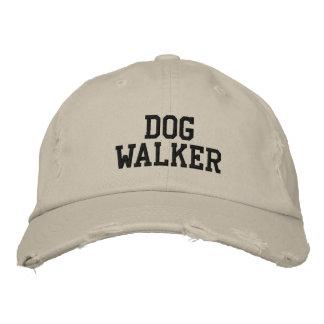 Caminante del perro gorro bordado