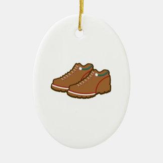 Caminar los zapatos adorno de navidad