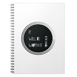 Caminaré por la fe cuaderno
