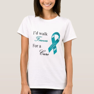 Caminaría para siempre para una camiseta de la