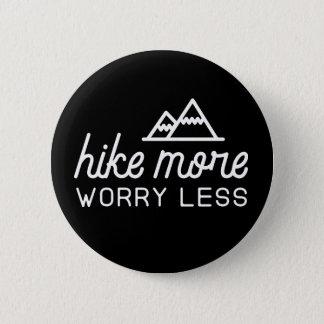 Camine más, preocúpese menos botón
