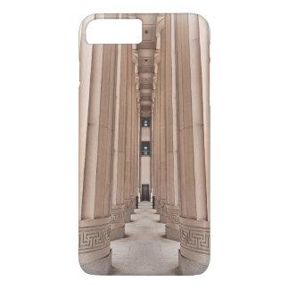 Camino arquitectónico de pilares funda iPhone 7 plus