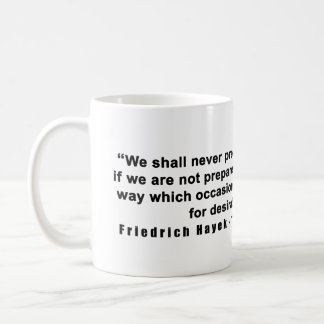 Camino de Friedrich Hayek a la cita del poder del Taza De Café