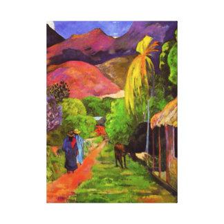 Miles de diseños de lienzos de arte de Paul Gaugin en Zazzle