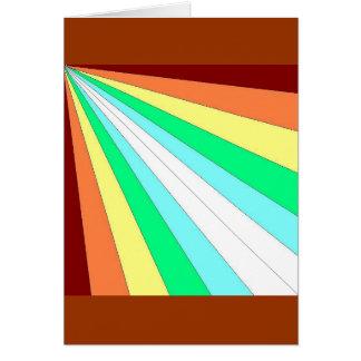 camino de los años 70 tarjeta de felicitación