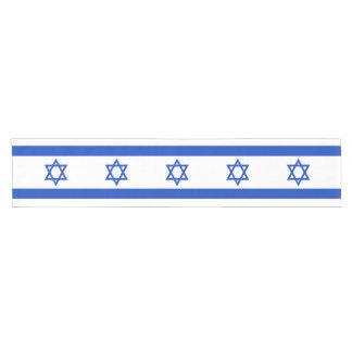 Camino De Mesa Corto Bandera de Israel
