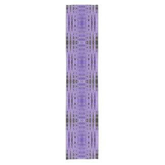 Camino De Mesa Corto Diseño negro púrpura moderno