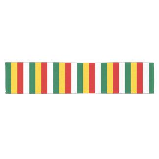 Camino De Mesa Corto La bandera de Suriname raya las líneas modelo