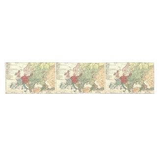 Camino De Mesa Corto Viaje europeo del vintage del mapa