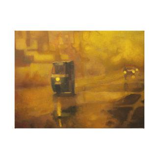 Camino de Sanda, aceite en la lona (impresión) Impresión En Lienzo