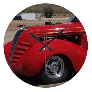 Camión 1937 del Hudson Terraplane Reloj Redondo Grande