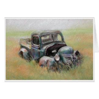 Camión 1946 de Fargo Tarjeta Pequeña