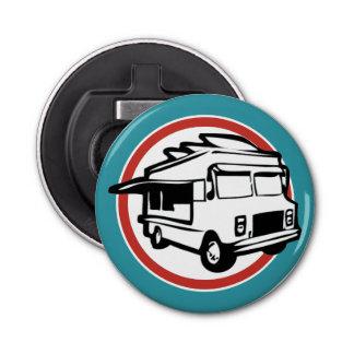 Camión de la comida abrebotellas redondo