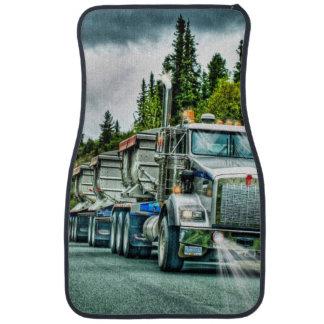Camión de la grava, el aparejo grande del camioner alfombrilla de coche