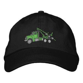 Camión de registración gorras bordadas