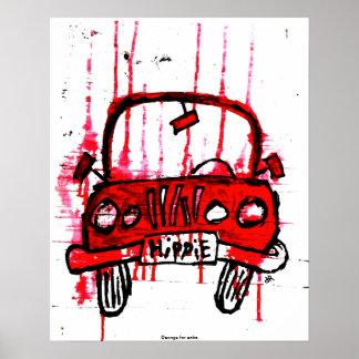 Camión del Hippie Poster