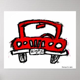 Camión del Hippie Posters