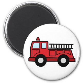 Camión del vehículo de la emergencia del Firetruck Imán