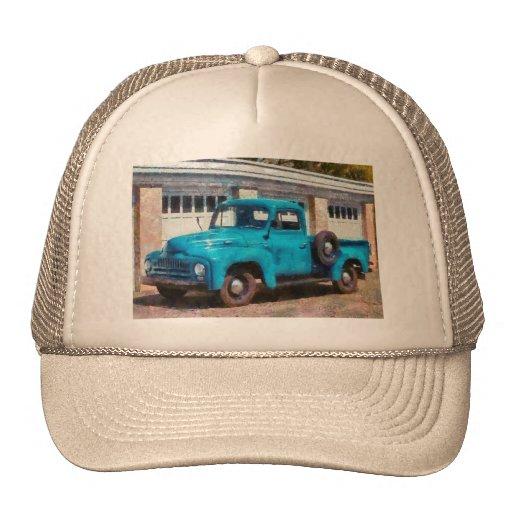 Camión - un camión viejo internacional gorros