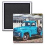 Camión - un camión viejo internacional imanes para frigoríficos