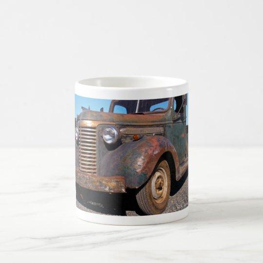 Camión viejo de Chevy Taza De Café