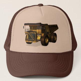 Camión volquete gigante gorra de camionero