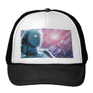 Camionero del chica 2 del robot gorra