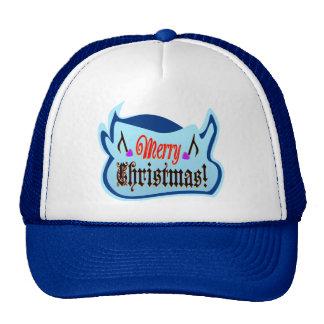 camionero elegante Hat♥♪ de Bull de los ♫♥Christma Gorra
