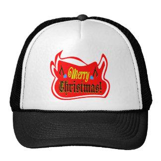 camionero elegante ♫♥Red Hat♥♪ del navidad de Bull Gorras
