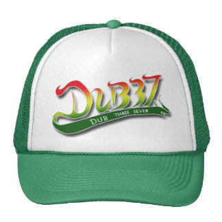 Camionero verde siete de la copia tres gorras de camionero