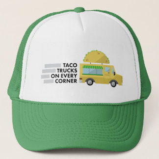 Camiones del Taco en cada gorra de la esquina del