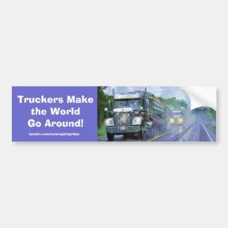 Camiones para los camioneros y los Camión-amantes Pegatina Para Coche