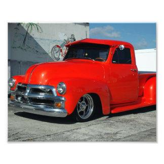 Camioneta pickup modificada para requisitos partic arte fotografico