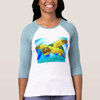 Camisa 12b de la tortuga de mar