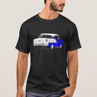 Camisa 1955 de Shoebox en azul y blanco