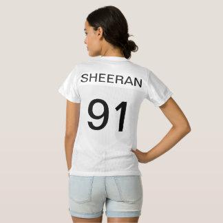 Camisa 1991 del jersey de Ed Sheeran con la pata
