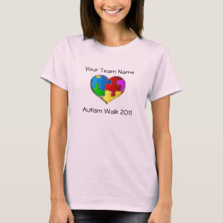 Camisa 2011 del paseo del autismo
