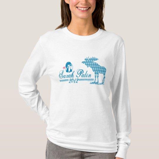 Camisa 2012 de los alces de Palin