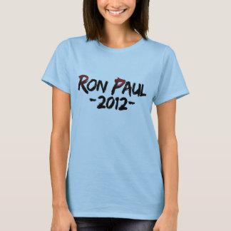 Camisa 2012 de Ron Paul de las mujeres