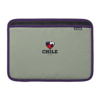 Camisa 2016 del fútbol de Chile Funda Para Macbook Air