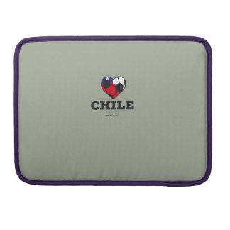 Camisa 2016 del fútbol de Chile Funda Para Macbook Pro