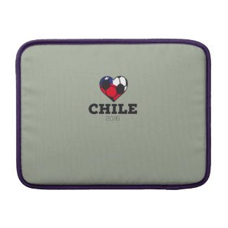 Camisa 2016 del fútbol de Chile Funda Para MacBookAir