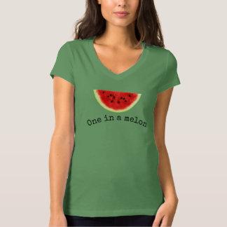 Camisa 2 de la sandía del verano de un melón de