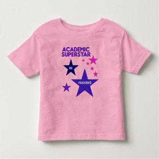 Camisa académica de la superestrella para los