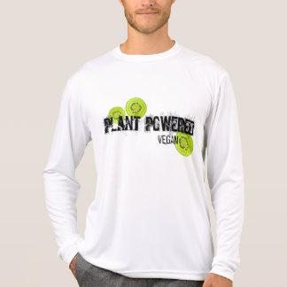 Camisa accionada planta del kiwi del vegano
