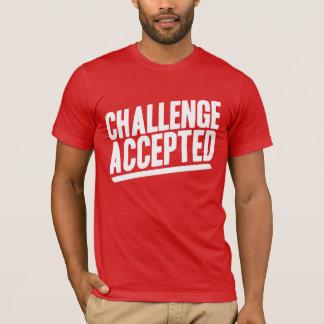 Camisa aceptada desafío